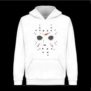 Jason mask Halloween hoodie